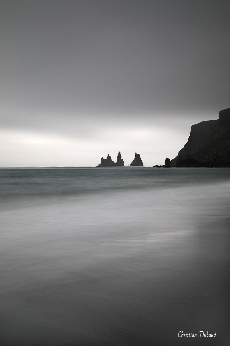 Des ténèbres, s'élever ... (Vik-Islande)