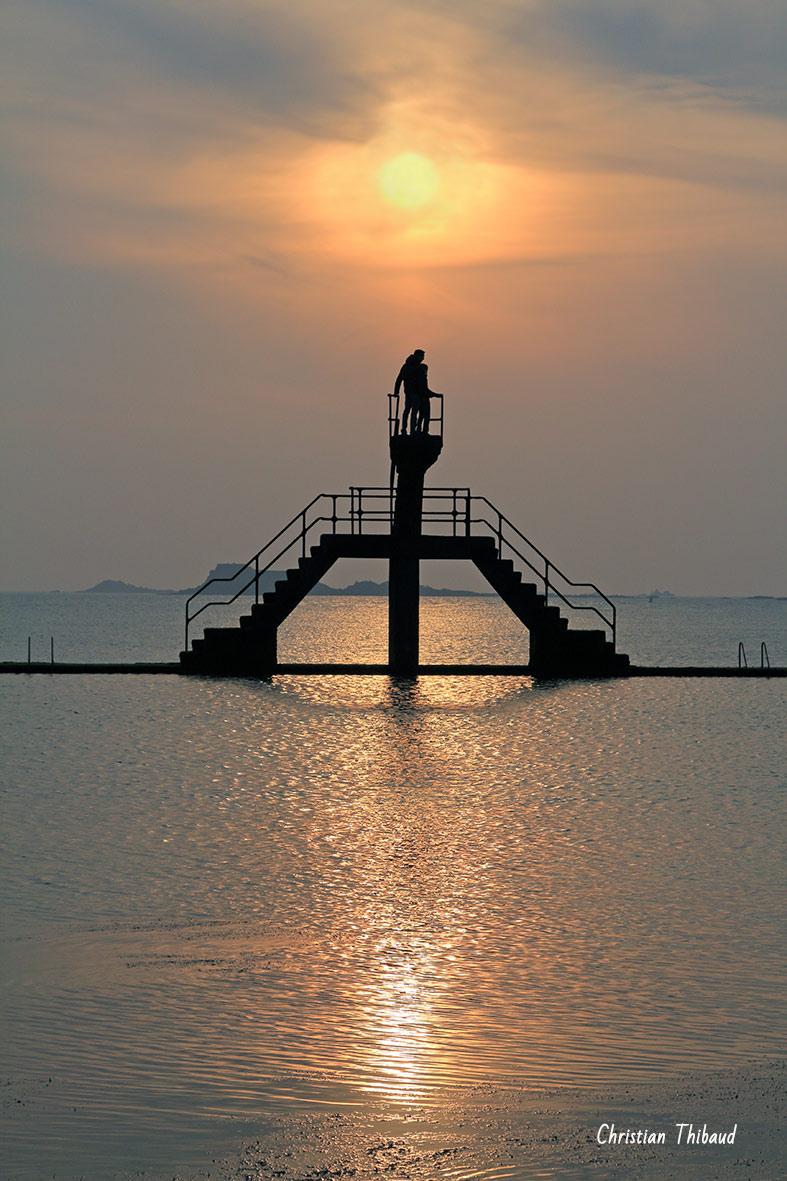 Imaginer l'horizon ...  (Saint-Malo)