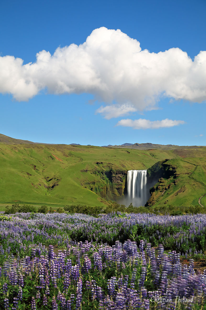 Cascade d'émotions ... (Skogafoss-Islande)