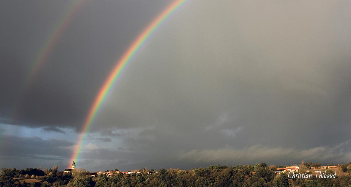 Feux d'arc-en-ciel ... (St Vincent Puymaufrais)