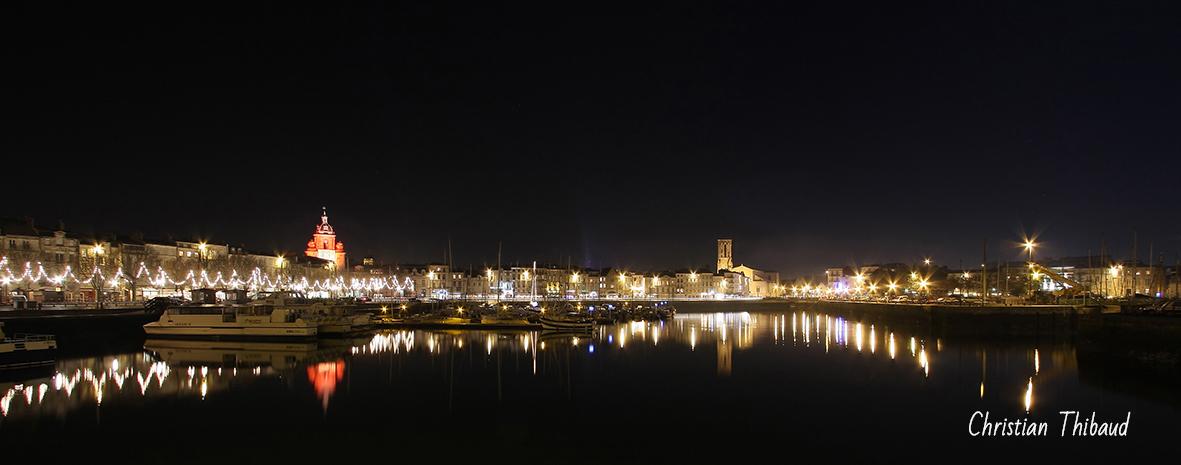 Nuit noire sur La Rochelle ...